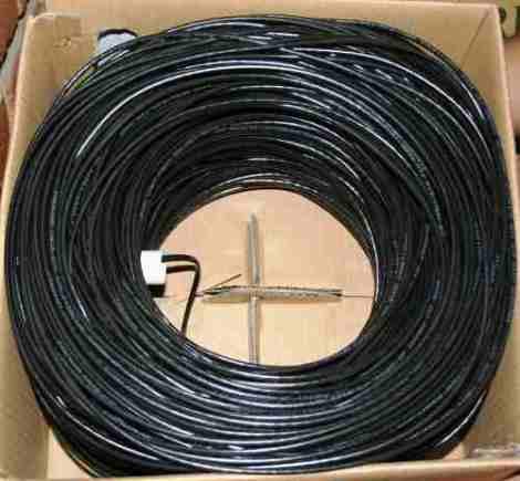 Cable Utp 2 Pares 4 Hilos  Cal.24 P/exteriores 300 Mts  B01 en Web Electro