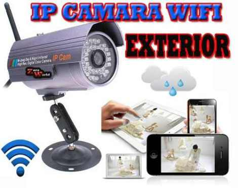 Camara Ip Exterior Visión Nocturna Inalámbrica Refor-wifi en Web Electro