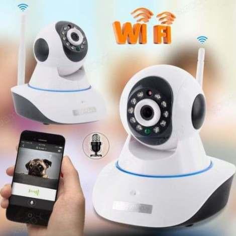 Camara Ip Wifi Inalambrica Video Audio 2 Vias
