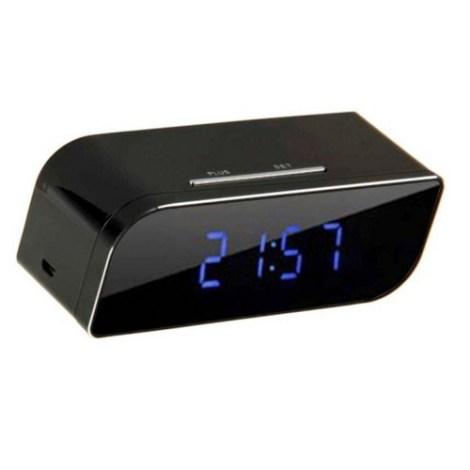 Camara Reloj Espia Despertador Ip Wifi Vision Nocturna
