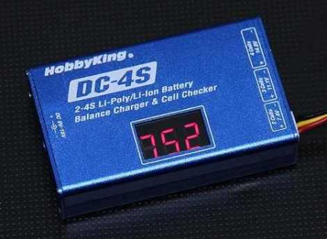 Cargador Lipo 12v 2s 3s 4s Basic Balance Charger Dji en Web Electro