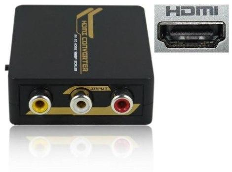 Convertidor De Señal Rca A Hdmi (nuevo) Sp0 en Web Electro