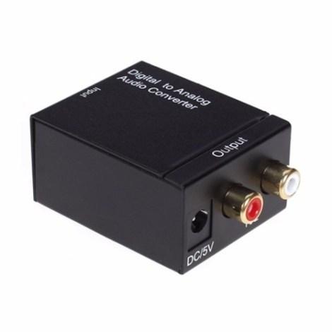 Convertidor Optico  A Rca + Cable + Envio Gratis en Web Electro