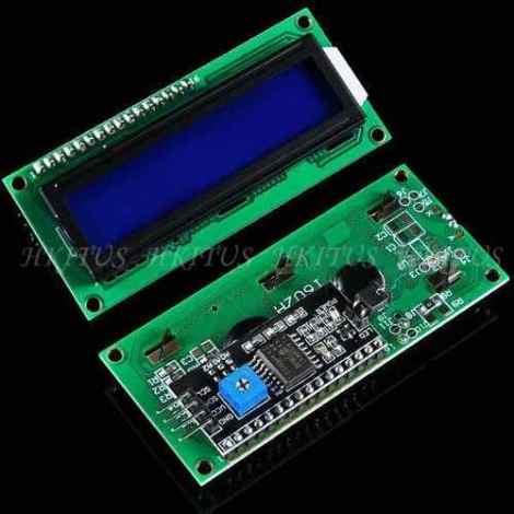 Display Lcd 1602 Con I2c Arduino Raspberry Fondo Azul en Web Electro