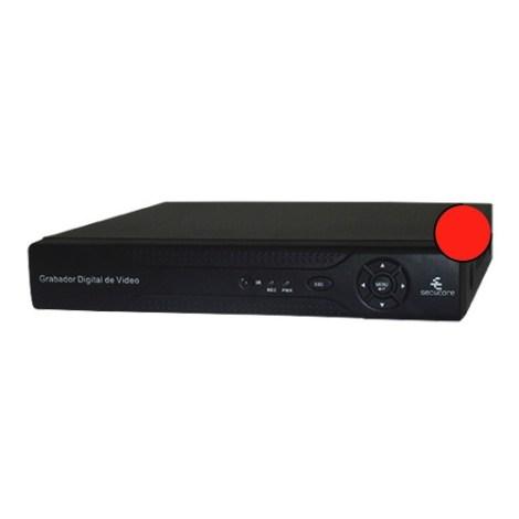 Dvr Ahd Cctv 8 Canales Video Hd 1080n Nvr Tribrido Secucore en Web Electro