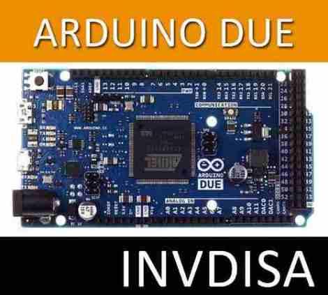 Invdisa – Arduino Due R3 Atmel Op4 en Web Electro