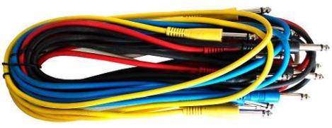 Kit De Cables Para Parcheo en Web Electro