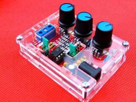 Kit Generador De Funciones Xr2206 1hz – 100khz Con Case en Web Electro