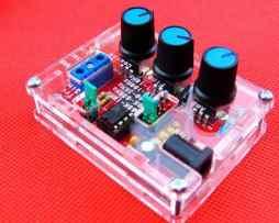 Kit Generador De Funciones Xr2206 1hz - 100khz Con Case en Web Electro