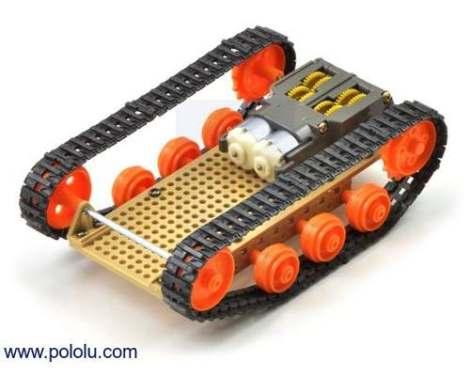 Kit Para Armar Robot Tamiya De Orugas Robotica Arduino en Web Electro