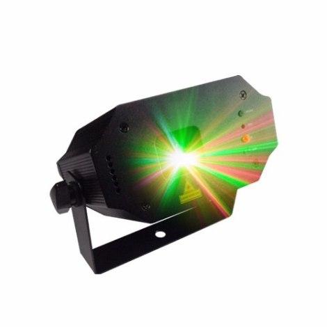 Laser Led Disco Dj Control Bicolor Audioritmico en Web Electro