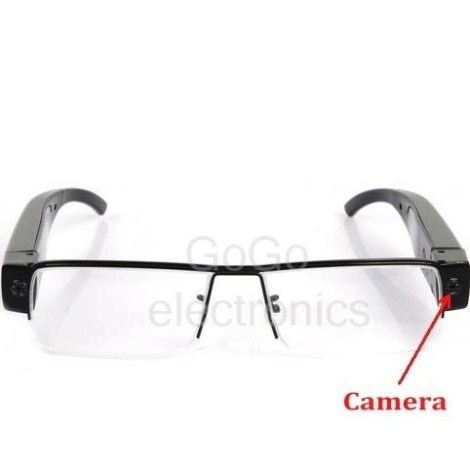 Lentes Con Camara Espia Dvr Full Hd 1080p Max64gb Super Slim