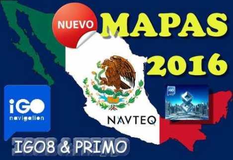 Mapas 2016 Igo Primo Igo 8 Estereos Chinos Mexico Original en Web Electro