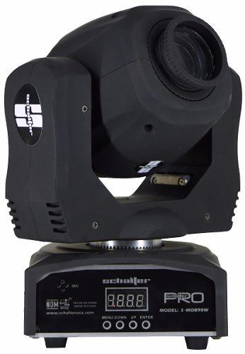 Mini Beam Cabeza Movil Led Alta Velocidad Con Gobos 1x90w en Web Electro