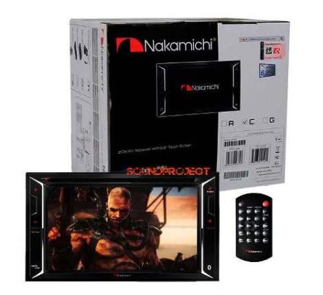 Nakamichi Gps/bluetooth/usb/sd/dvd Touchscreen 6.2 Hi-end en Web Electro