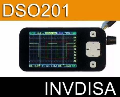 Osciloscopio Digital Portatil Color Usb Dso201 Pocket en Web Electro
