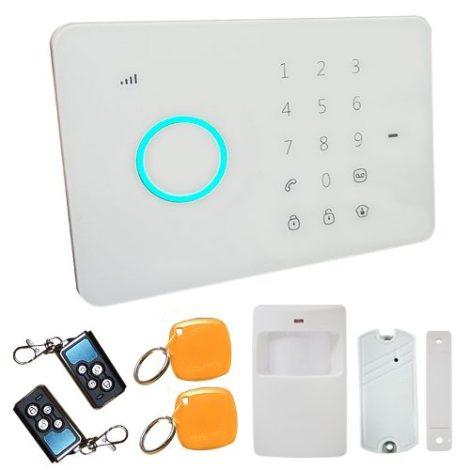 Panel Alarma Gsm Sms Celular App Casa Negocio Seguridad Al4 en Web Electro