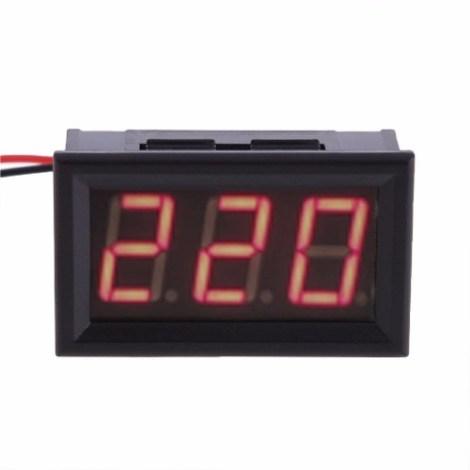 Panel Voltimetro Digital De Ac De 60~500vac De 3 Digitos en Web Electro