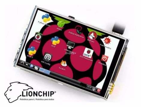 Pantalla Tactil 3.5 Pulgadas Raspberry Pi B 2 3 Touch Screen en Web Electro