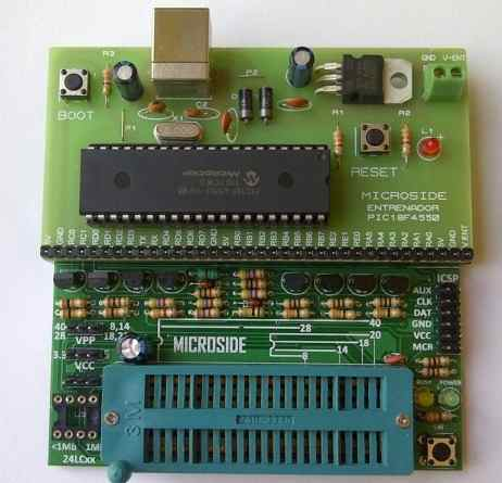 Programador Pic Dspic Usb Entrenador 9 Herramientas En 1 en Web Electro