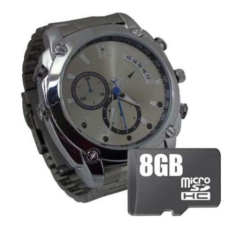 Reloj Espia Vision Nocturna 12mp Hd Camara Oculta 8gb en Web Electro