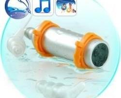 Reproductor Mp3 Con 4gb Contra Agua Sumergible De Natacion en Web Electro