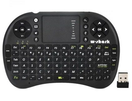 Teclado Inalámbrico Recargable Smart Tv Usb Touch Pad