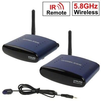 Transmisor Receptor Inalambrico Audio Y Video 5.8ghz 200mts en Web Electro