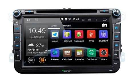 Volkswagen Android 4.4.4 Kitkat 8pulg Gps Wifi Mirrorlink Vw en Web Electro