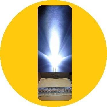 100 Leds Ultrabrillantes 5mm Con 100 Resistencias__envio Dhl en Web Electro