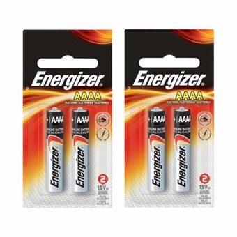 2 Paquetes De Pila Alcalina Aaaa Energizer Lr61 1.5v