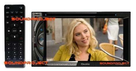 2din Gps/bluetooth/usb/hd/dvd Touchscreen 6.5 Checa Video en Web Electro