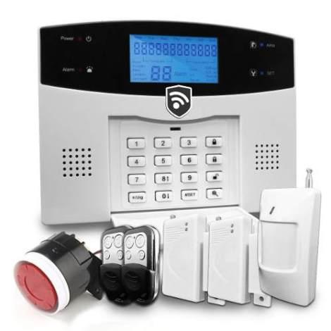 Alarma Dual Gsm Inalambrica Seguridad Casa Negocio App X Cel en Web Electro
