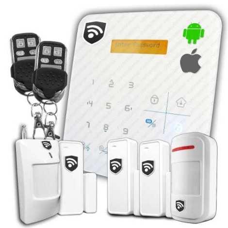 Alarma Gsm Rfid Inalambrica Seguridad Casa Negocio Oficina en Web Electro