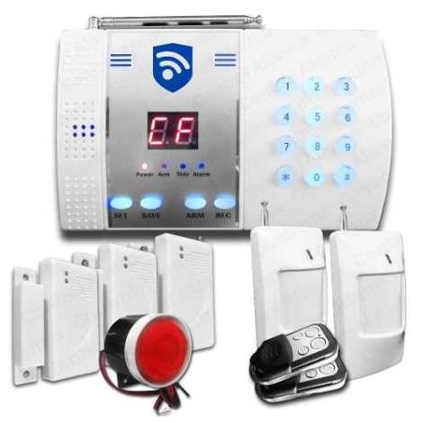 Alarma Telefónica Hasta 99 Sensores Seguridad Casa Negocio en Web Electro
