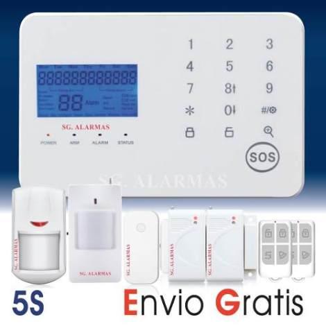 Alarma Touch Gsm Dual Seguridad Casa Negocio Vía App Celular en Web Electro