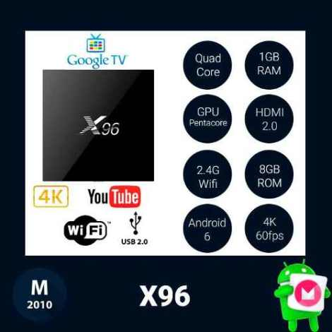 Android Tv Box | X96 | Hdmi | Android 6 | Wifi | 2016 en Web Electro