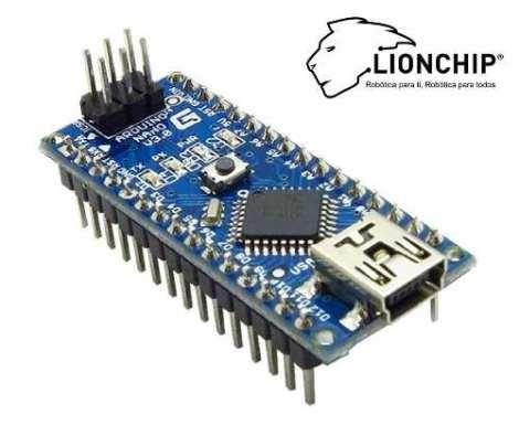 Arduino Nano Formato Diminuto Microcontrolador Lionchip en Web Electro