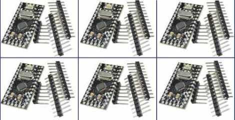 Arduino Pro Mini Atmega168 5v 16mhz (6 Pzas) en Web Electro
