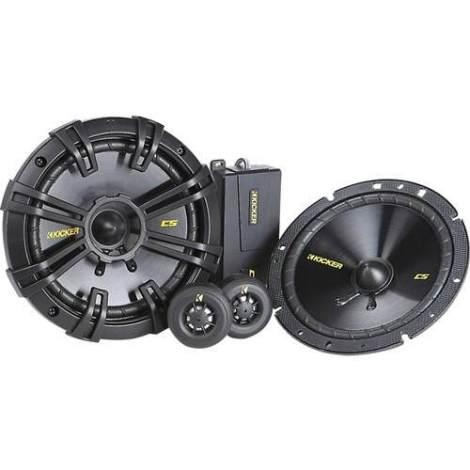 Audioonline Set De Medios Kicker 40css654 6.5  300w Pico en Web Electro