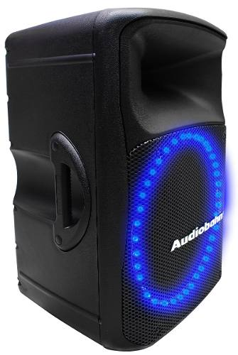 Bafle Amplificado Audiobah Leds Audioritmicos 550w Rms Xaris en Web Electro