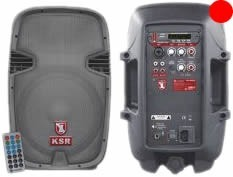 Bafle Bocina Amplificada Kaiser 2000w Bluetooth Usb Ksr 5828 en Web Electro