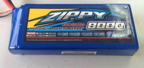 Bateria Lipo 8000mah 14.8v 4s 30c Zippy Pila Recargable Dji en Web Electro