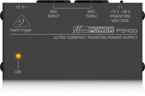 Behringer Ps400 Fuente Alimentación Fantasma-phantom Power en Web Electro