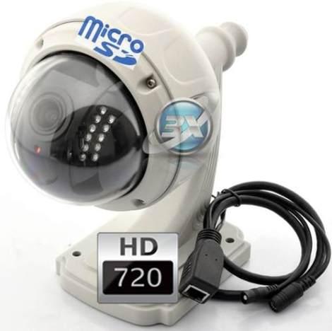 Camara Ip Inalambrica 4x Zoom Domo Vigilancia Exterior en Web Electro