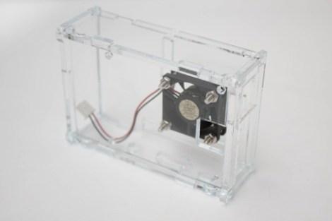 Case Raspberry B+ Pi 2 Pi 3 Abanico Disipadores Caja Carcasa