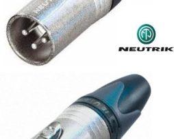 Conector Neutrik 5 Juegos Xlr 3 Pin (hembra - Macho) Canon