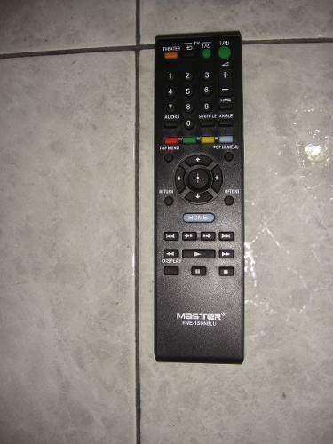 Control Remoto Dvd Blu-ray Generico Para Sony  Hme-1sonblu en Web Electro