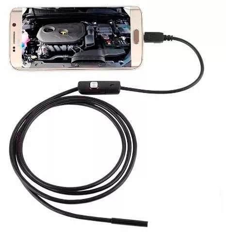 Endoscopio Boroscopio Usb Otg Celulares O Pc 2 Metros