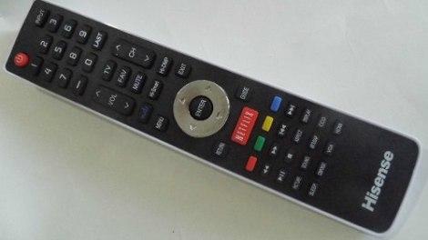 Hisense Control Directo Pantallas Hisense Con Boton  Netflix en Web Electro